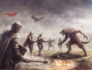 werewolf-versus-knights